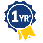BluPac 1 yr Warranty Ribbon Icon
